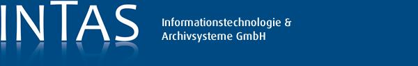 INTAS Informationstechnologie & Archivsysteme GmbH. Alle Rechte vorbehalten's Company logo